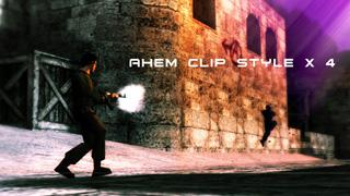 Ahem Clip Style x4